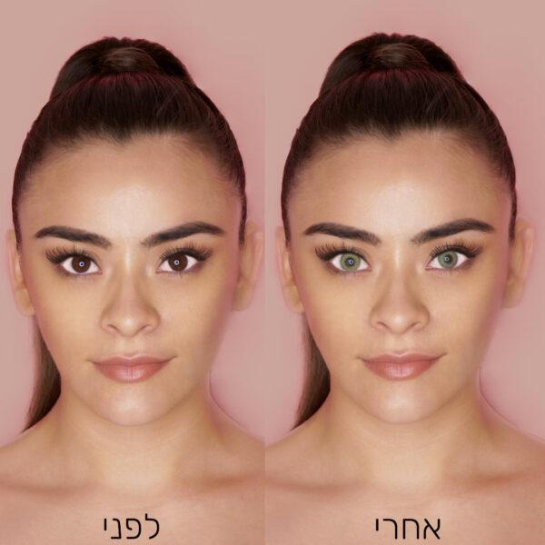 Ocean Brown לפני ואחרי